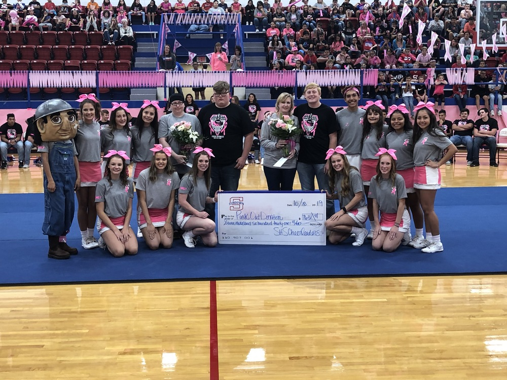 PINK OUT A HUGE SUCCESS - THANKS TO SUNDOWN COMMUNITY