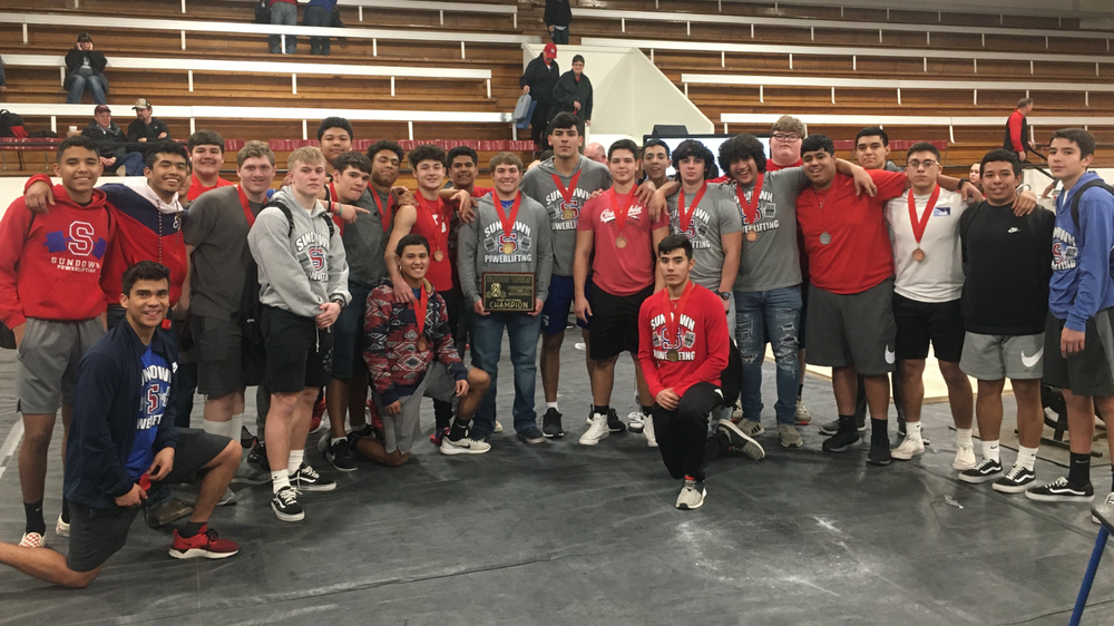 SHS Powerlifters Win Slaton Meet