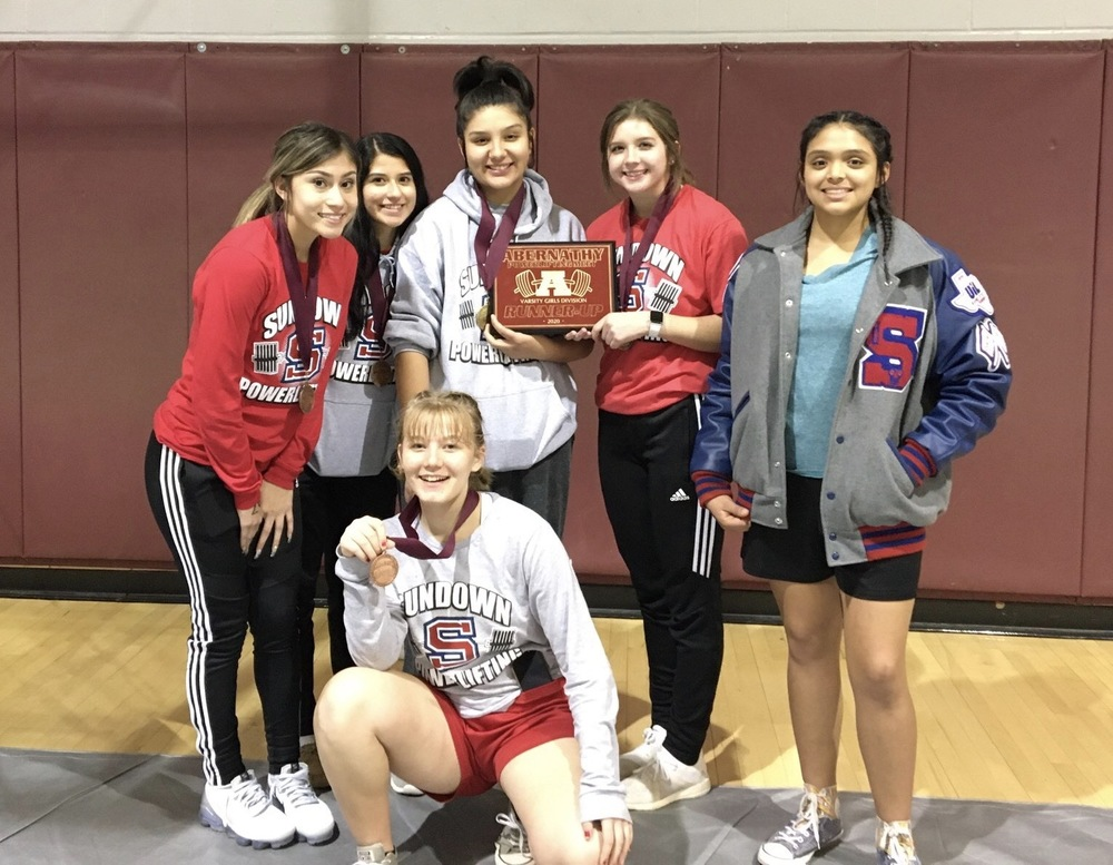 Levelland Powerlifting Meet - SHS Girls