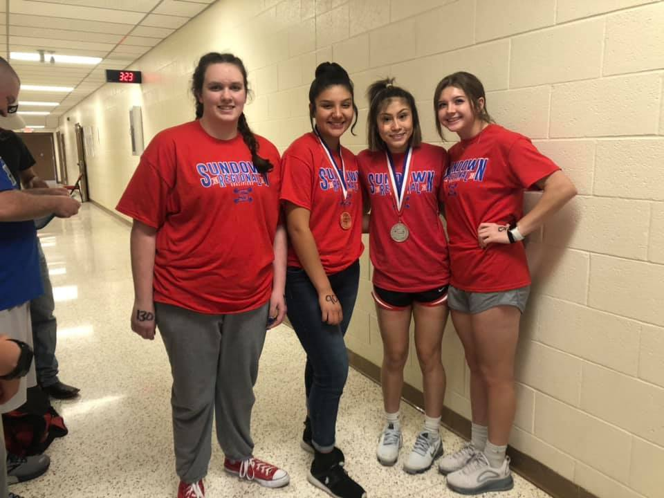Girls Regional Powerlifting