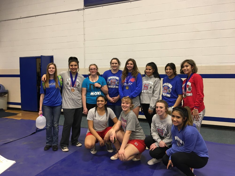 Tahoka Powerlifting Meet