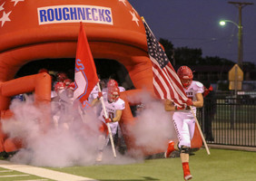 The Roughnecks Gallop Over the Mustangs